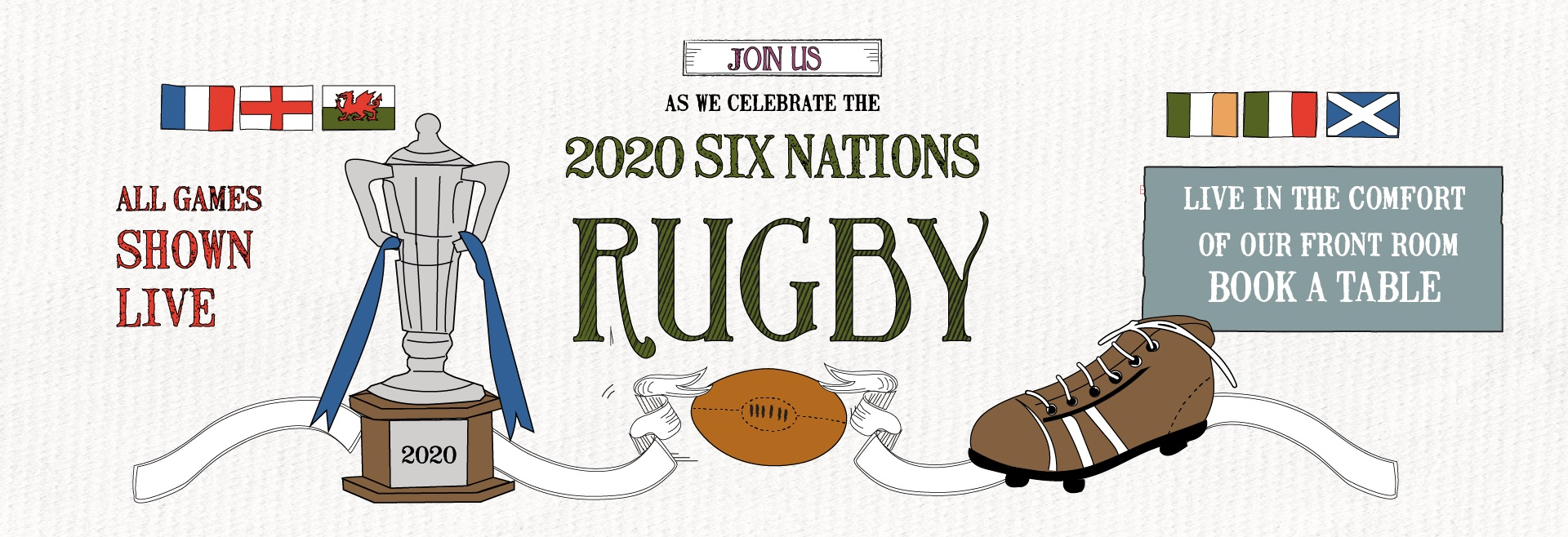 Six Nations at The Queen's Arms