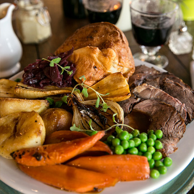 Quality Sunday food at The Queen's Arms