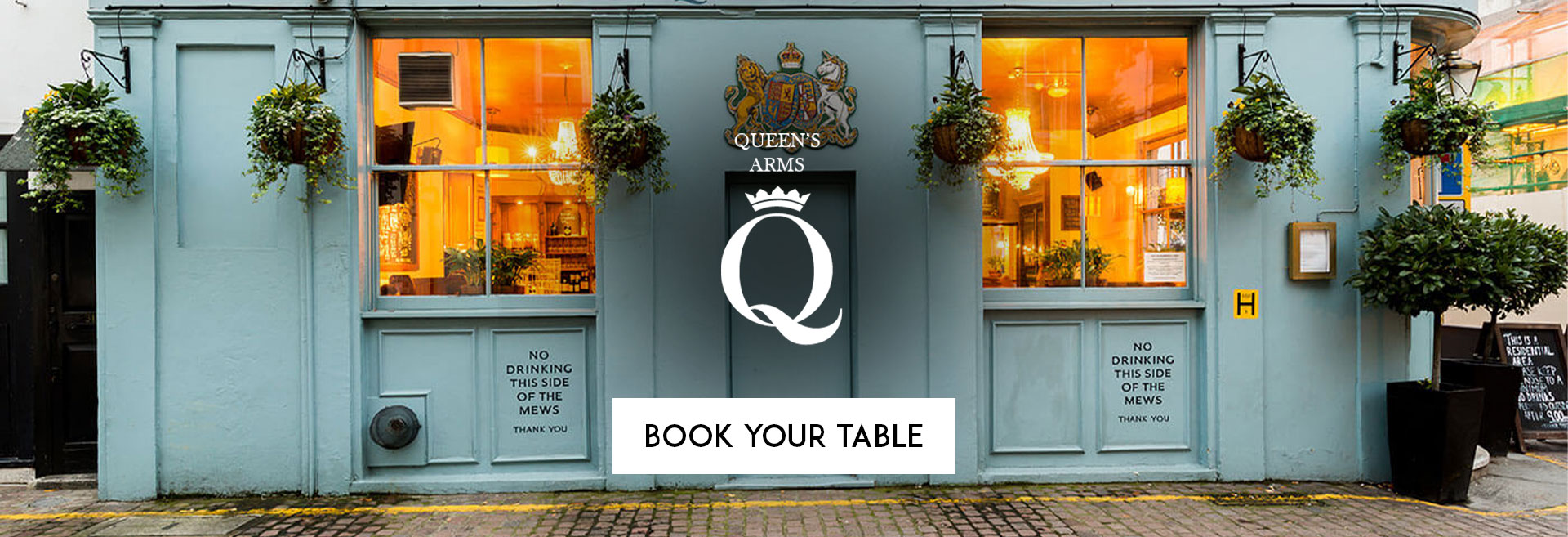 Book Your Table The Queen's Arms